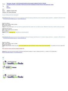 Email's showing Michael Marchand mislead Westneat. Click to expand.
