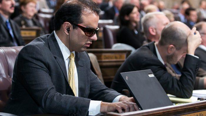 Partisan hack Habib forgets his new job duties