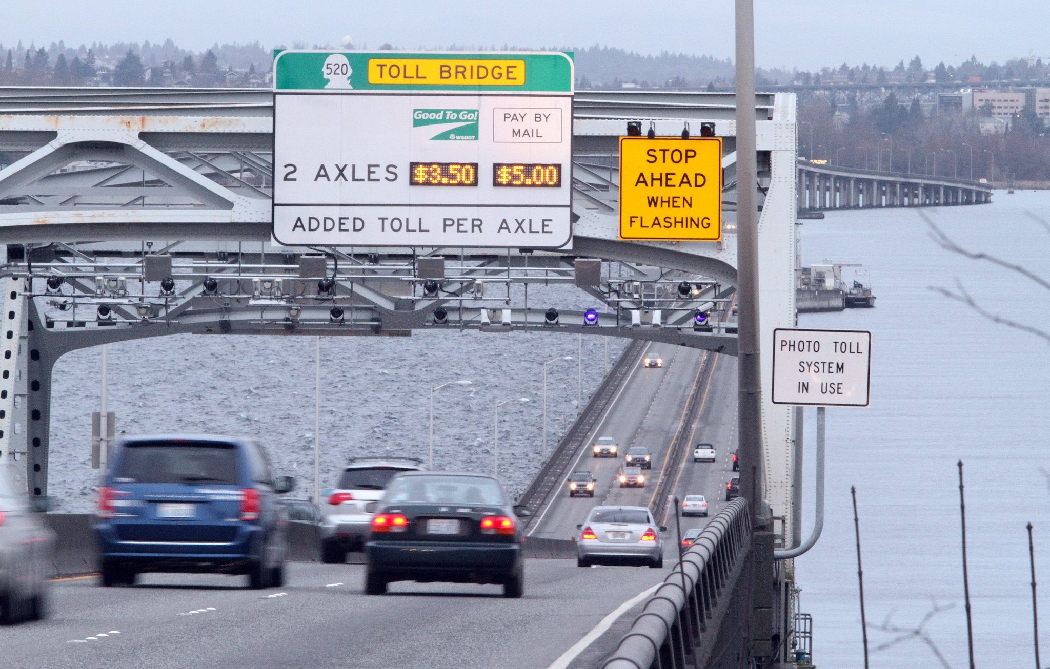 Why won t inslee lower 520 tolls during i 90 construction for I 90 construction