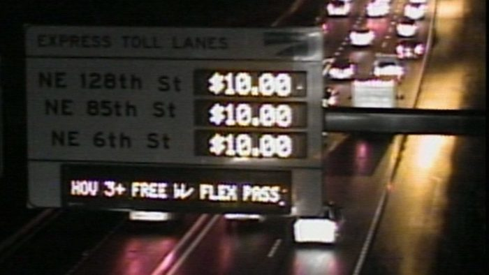 Turns out, I-405 tolls are failing
